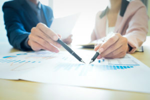 connection with a financial advisor