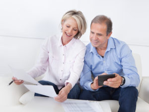 working with an investment advisor