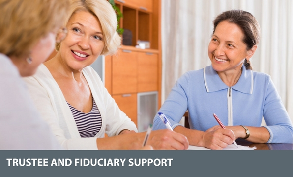 trustee and fiduciary support