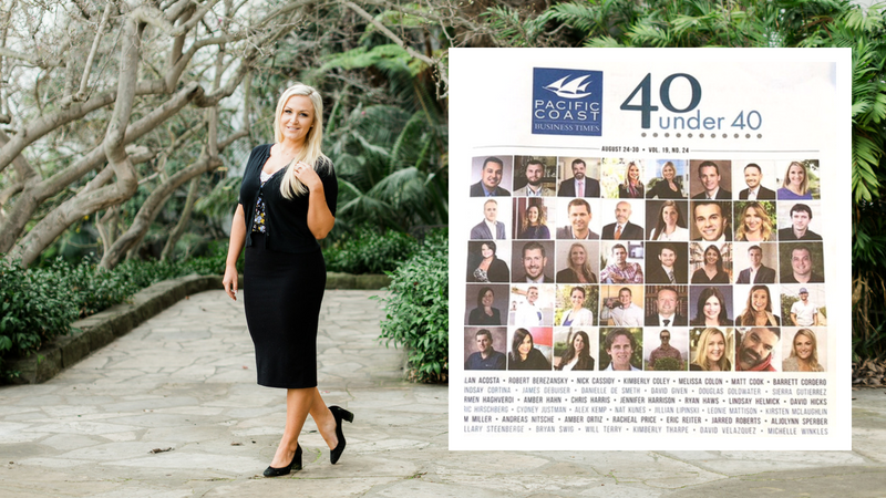 40 Under 40 - Michelle Winkles