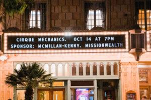 Granada Theatre and Cirque Mechanics