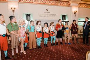 performers in Cirque Mechanics