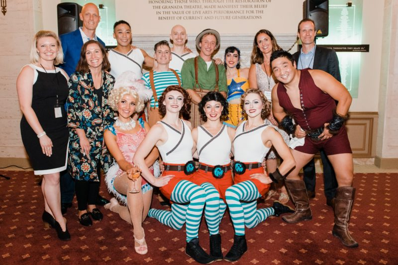 UCSB Arts & Lectures and Cirque Mechanics