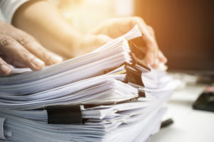 when to shred old financial documents