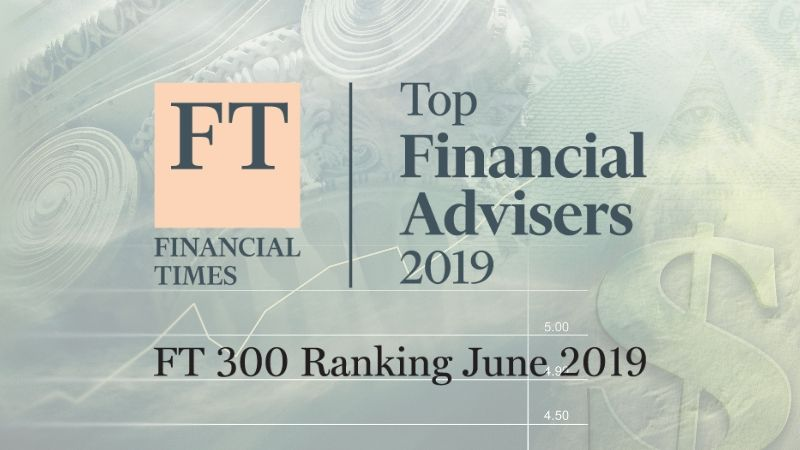 2019 Top Financial Advisors List