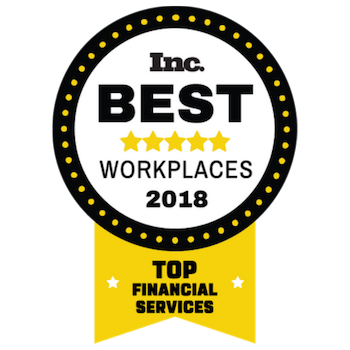 Inc. 5000 Best Workplaces 2018