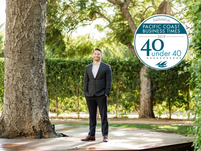 Brian Sottak, Top 40 Under 40 in the Pacific Coast Business Times