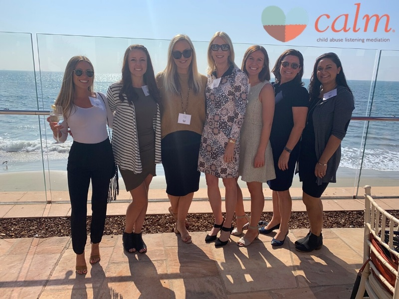 Mission Wealth joined CALM (Child Abuse Listening and Mediation) for their fourth annual CALM at Heart Stepping Stones luncheon.