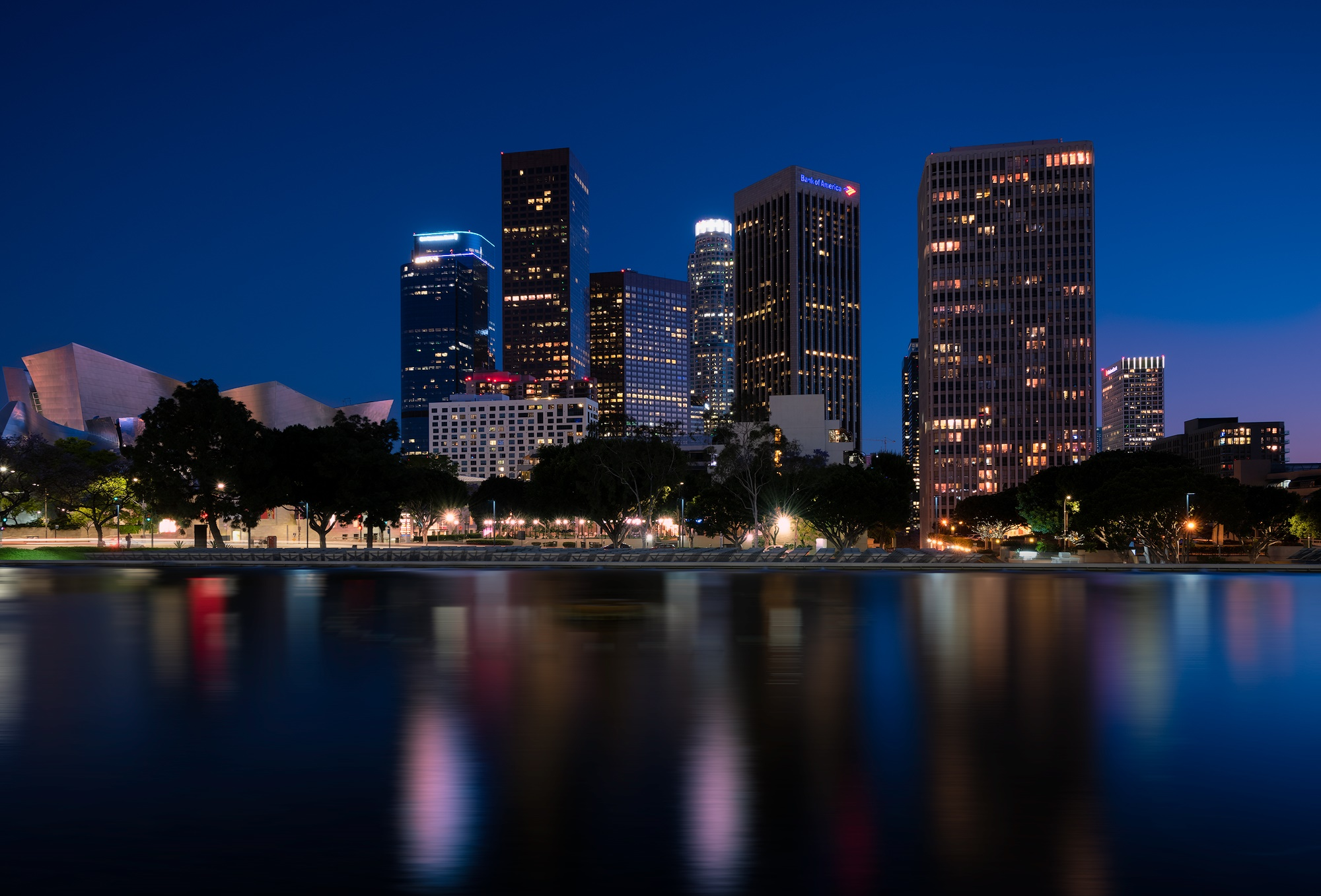 Photo of Los Angeles Department of Water and Power lagoon taken by Greg Smith