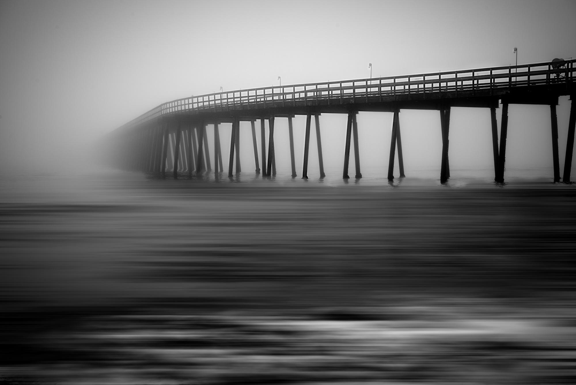 Early morning photo of the Goleta Pier taken by Greg Smith