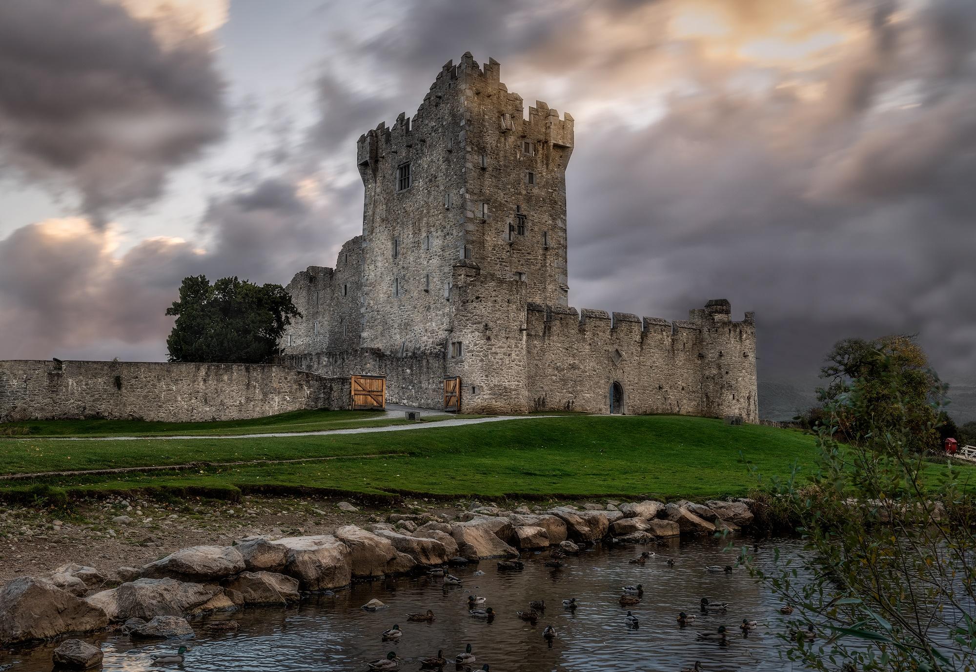 Ross Castle in Ireland taken by Greg Smith