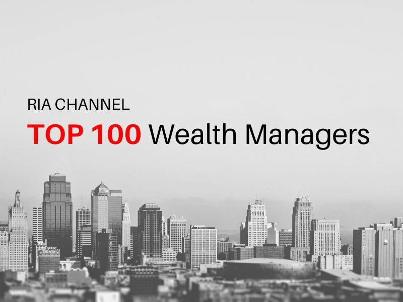 RIA Channel Top 100 Wealth Managers graphic