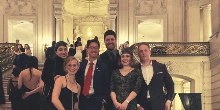 Mission Wealth Team at the MMSF Gala