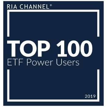 RIA Channel Top 100 ETF Power Users