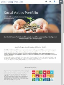 Impact Investing and Socially Responsible Investing Mission Wealth