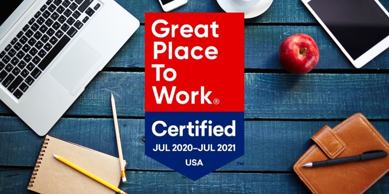 Mission Wealth Certified Great Place to Work 2020
