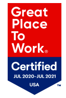 Certified Great Place to Work 2020