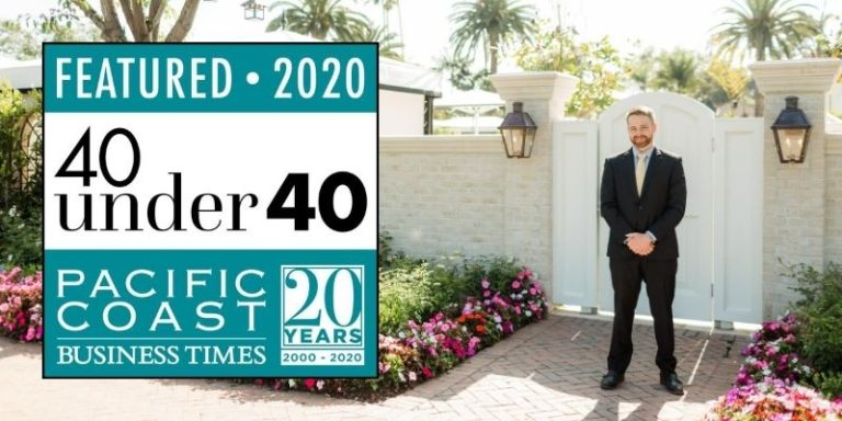 Wes Patton top 40 under 40 Mission Wealth