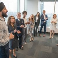 Standing Meeting INSPIREDtalk Mission Wealth Un-Stuff Your Life Andrew Mellen