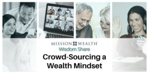 Crowd Sourcing Wealth Mindset Wisdom Share Hero