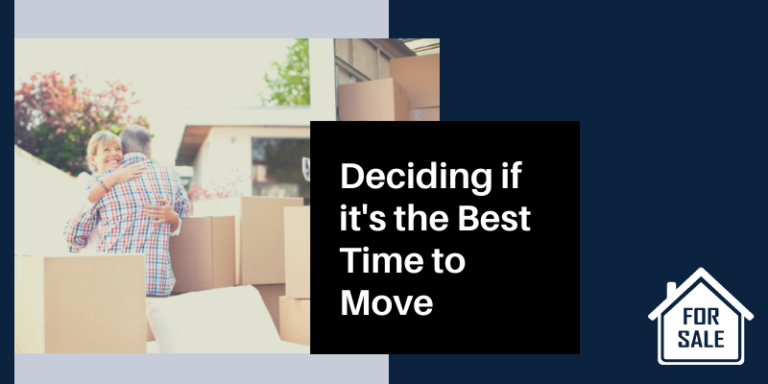 Deciding best time to move