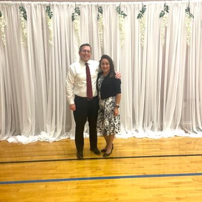 Brandon and his wife [NAME]