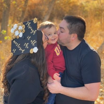 Jessica Neves and her family