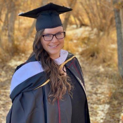 Jessica Neves at graduation