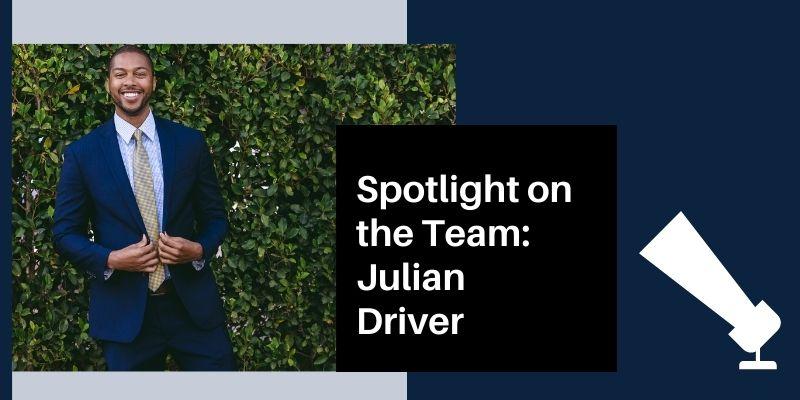 Spotlight on the Team Julian Driver